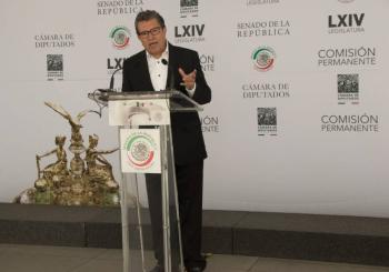 Tras elecciones, proceso para desaparecer poderes en Tamaulipas: Monreal