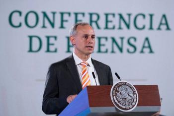 La meta es vacunar a un millón de mexicanos por semana : Hugo López-Gatell