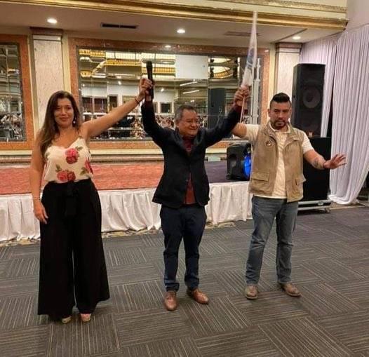 Leslie Staines declina por Eduardo Santillán