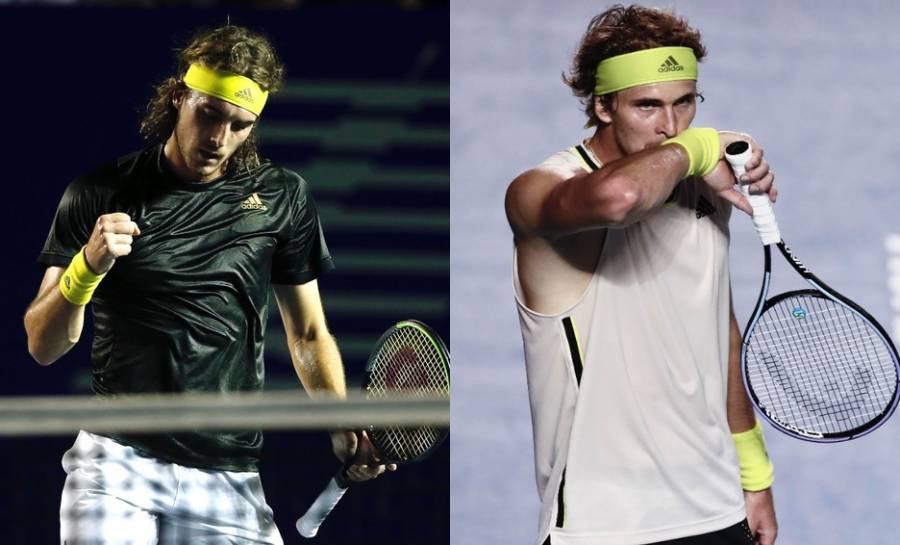 Tsitsipas y Zverev avanzan con paso firme en Roland Garros