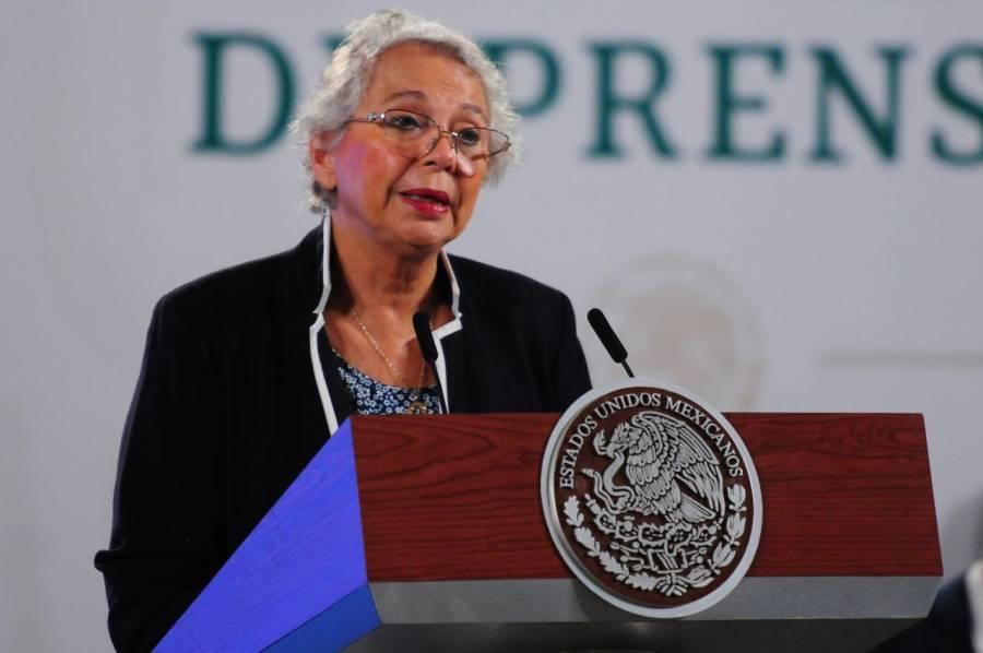 Desmiente Sánchez Cordero renuncia a la Secretaría de Gobernación