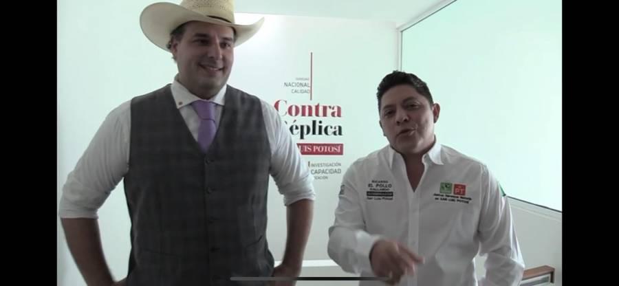 Esper reprueba campañas negras contra Ricardo El Pollo Gallardo