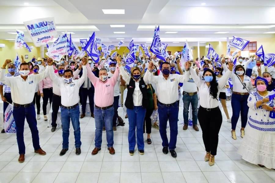 La desesperación de nuestros contrincantes es la mejor señal de que vamos a ganar el próximo domingo: Maru Campos