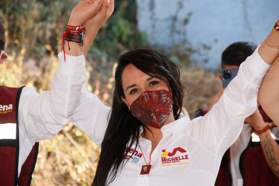 En Valle de Bravo no funcionó la guerra sucia, Morena llegará con amplia ventaja: Michelle Núñez