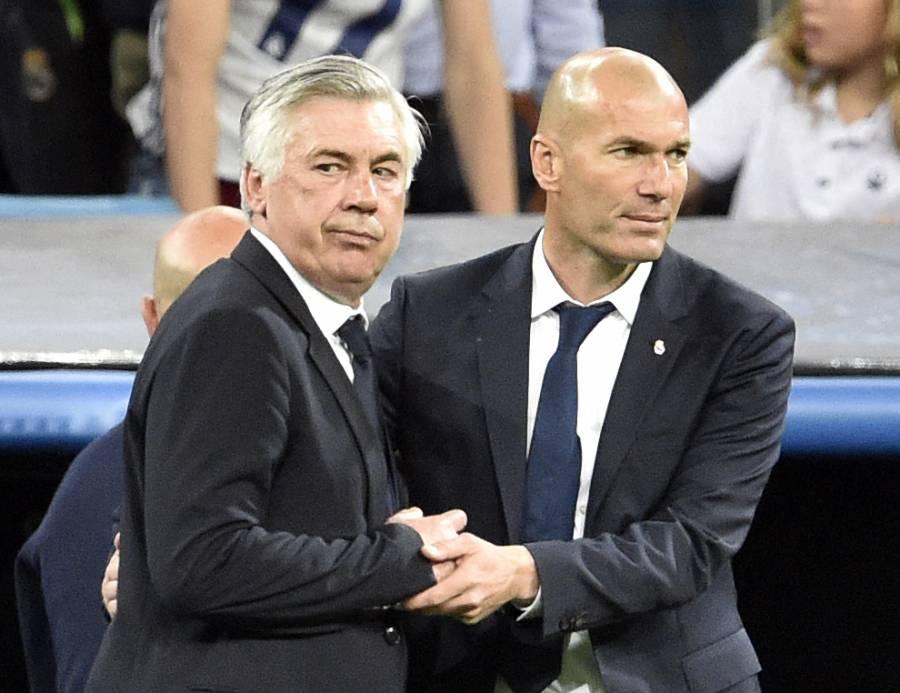 Ancelotti planea reducir la plantilla del Real Madrid