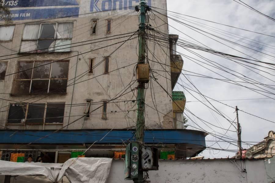 Solicitan sustituir cableado de luz aéreo por sistemas subterráneos