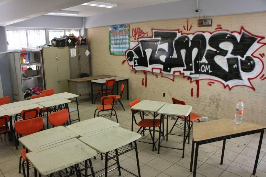 GCDMX reporta escuelas vandalizadas durante la pandemia