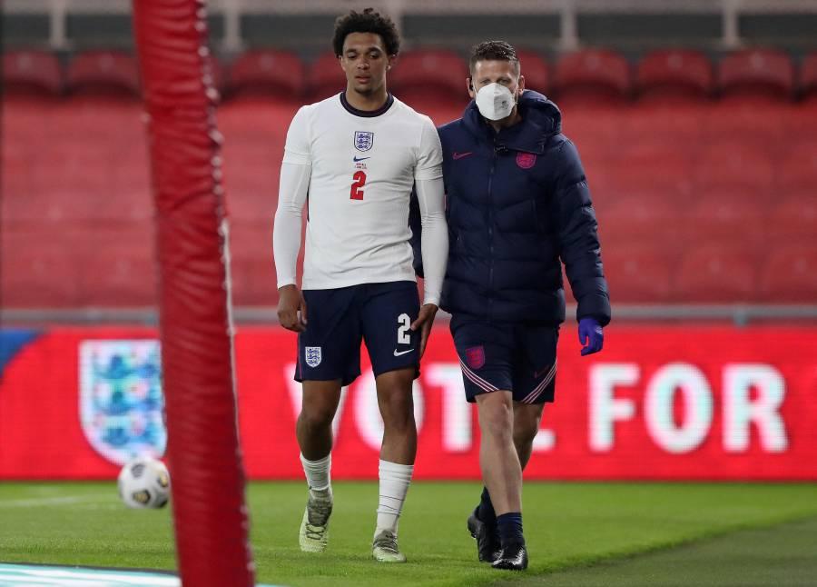 Alexander-Arnold, baja por lesión en Inglaterra para la Eurocopa