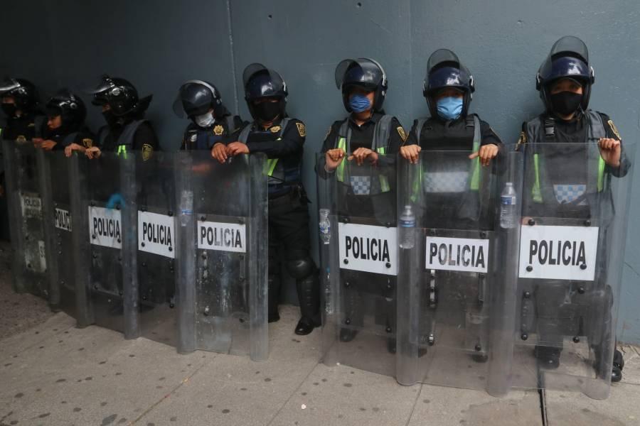 GobCDMX desplegará 18 mil policías el próximo domingo