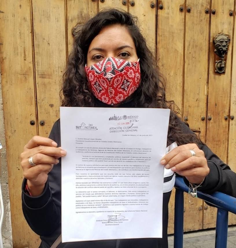 SutNotimex solicita a AMLO derecho de audiencia