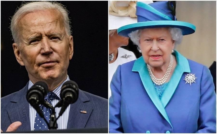 Reina Isabel II recibirá al presidente estadounidense Joe Biden el 13 de junio