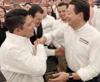 Reconoce Mario Delgado a Ricardo Gallardo como aliado de AMLO