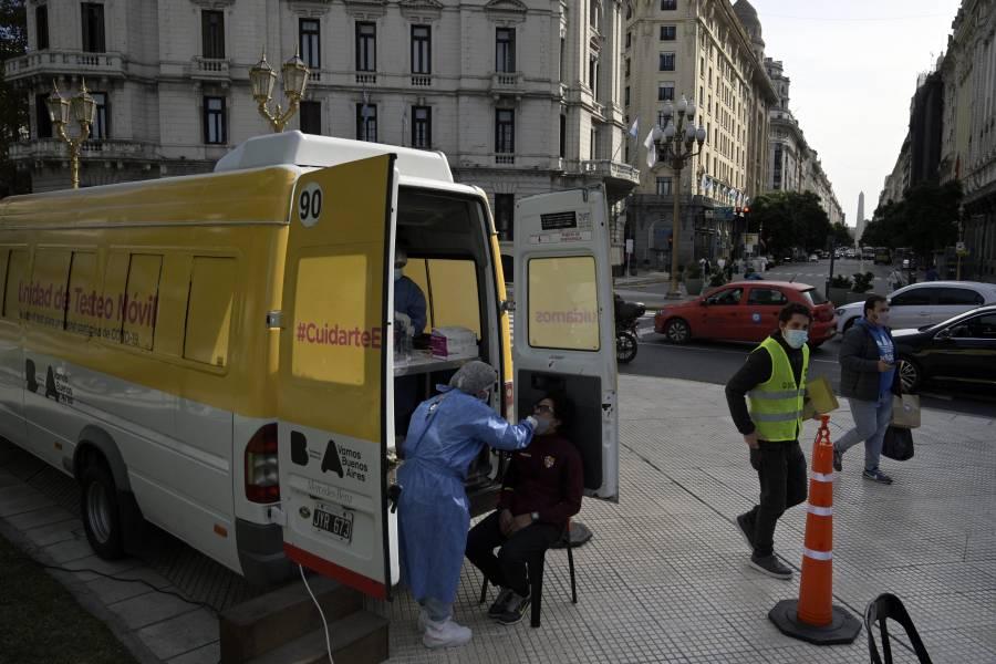 Argentina registra 30 mil 950 casos positivos de Covid-19 y 539 decesos