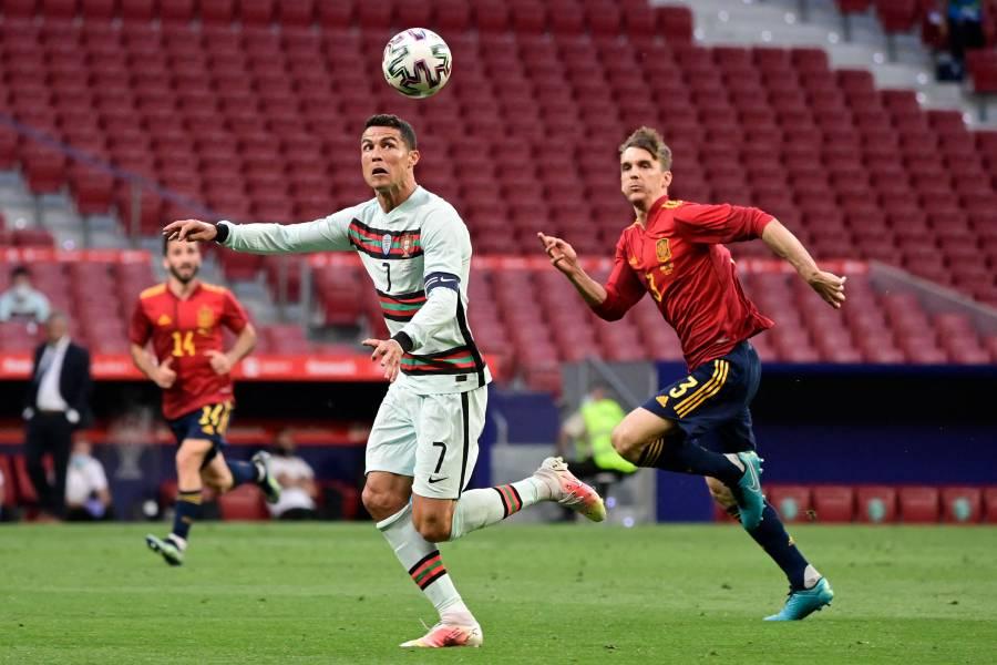 España y Portugal no se hacen daño previo a la Eurocopa