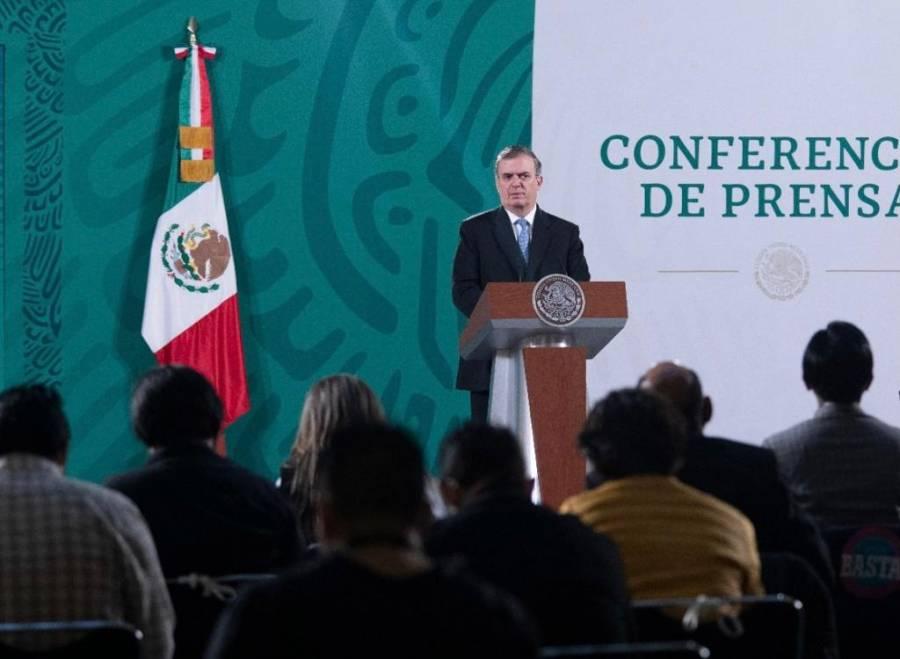 Marcelo Ebrard confirma visita de Kamala Harris a México