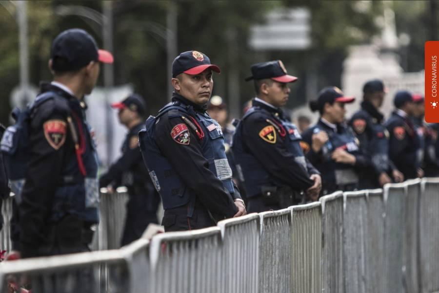 GCDMX desplegará 18 mil policías el próximo domingo