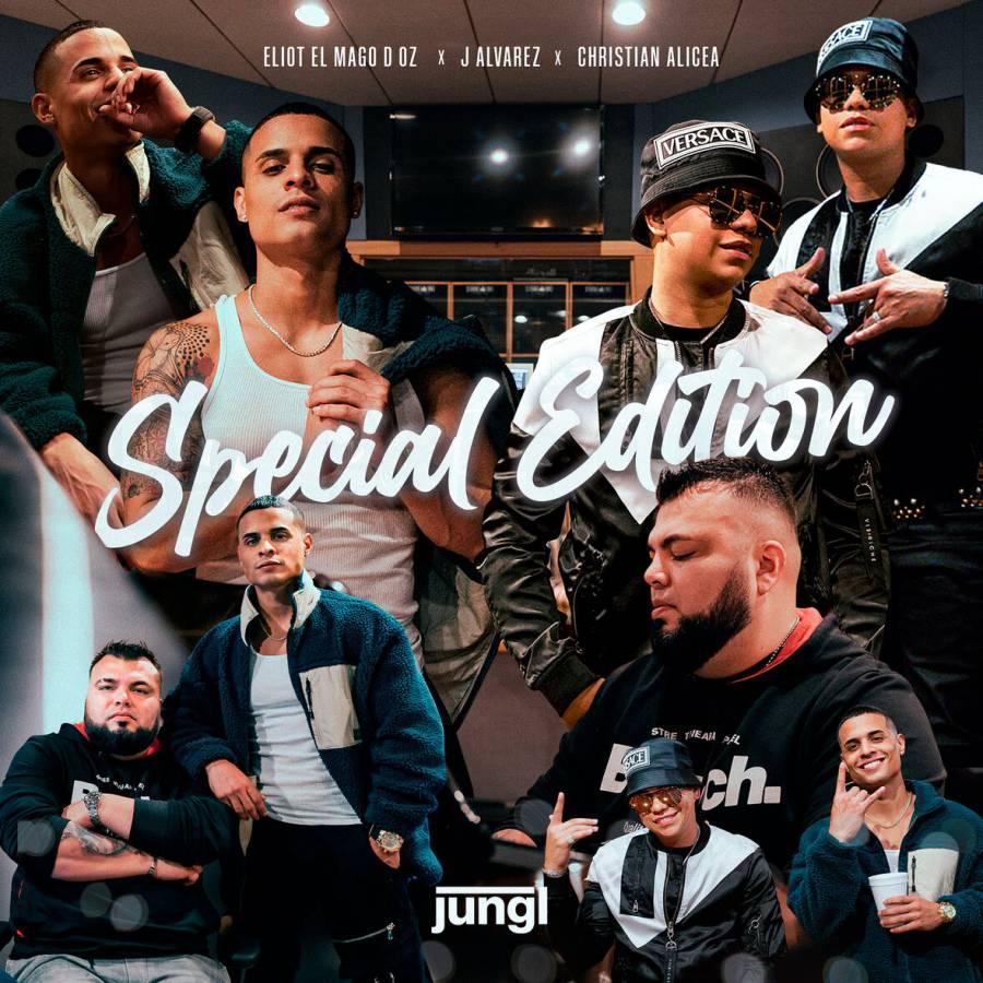 """""""Special edition"""", un éxito musical de J. Álvarez, Christian Alicea y el Eliot El Mago D Oz"""