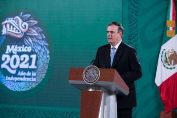 Marcelo Ebrard se lanzó contra Almagro previo a la llegada de la misión de la OEA