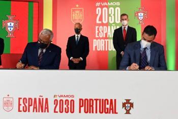 España y Portugal oficializan su candidatura para el Mundial de 2030