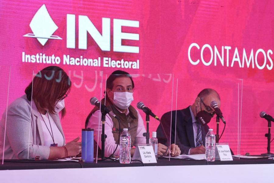 INE ha entregado casi 97% de paquetes electorales a funcionarios de casilla
