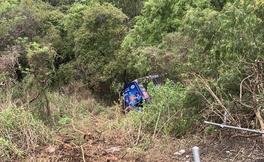 Accidente de autobús en Cuajimalpa deja 19 heridos