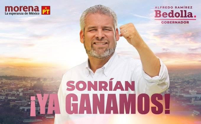 Candidato de Morena en Michoacán dice haber ganado la gubernatura