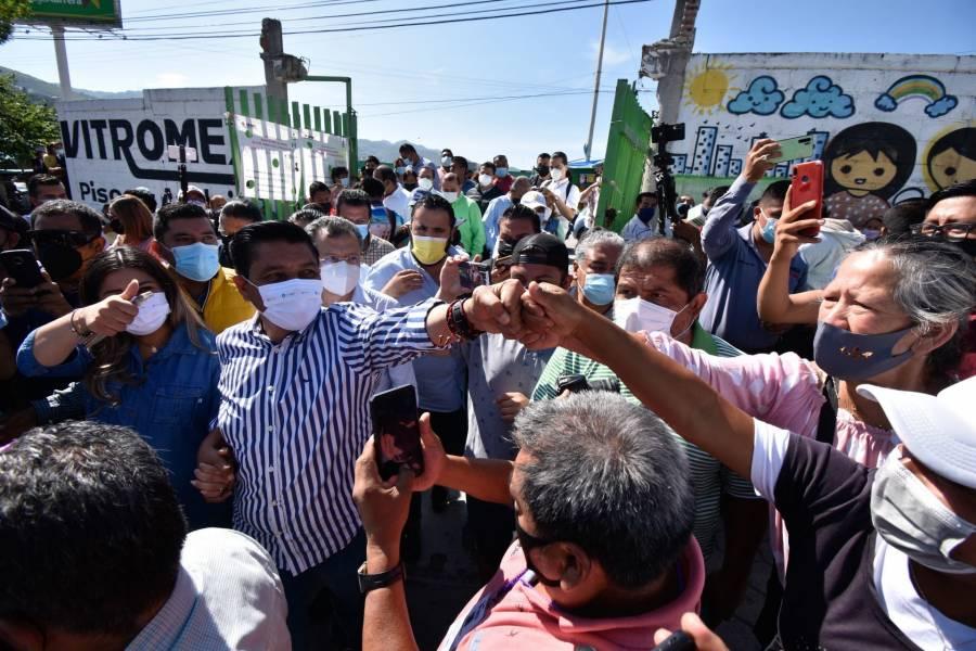 Mario Moreno se declara ganador en Guerrero