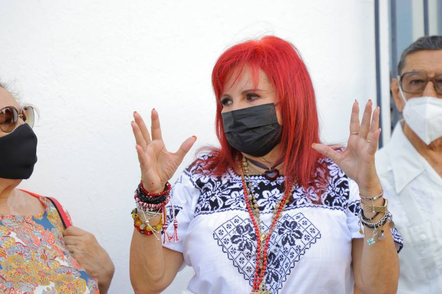 Layda Sansores dice ser ganadora en Campeche