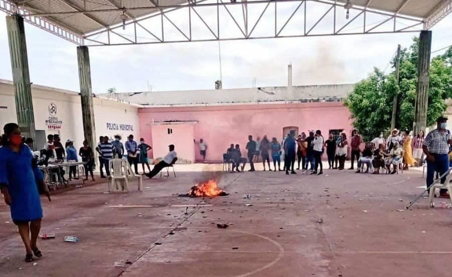 Suspenden elecciones por ola de violencia en el Istmo de Tehuantepec
