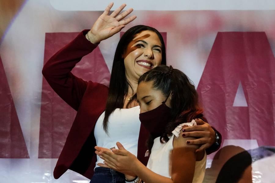Indira Vizcaíno lidera conteo rápido en Colima
