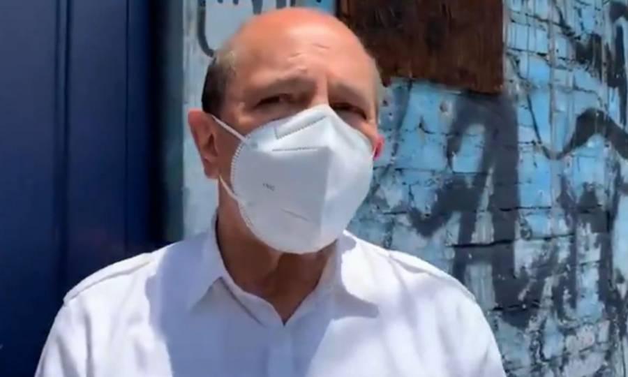 Armando Quintero acude a votar en alcaldía Iztacalco, informa que interpuso una denuncia electoral