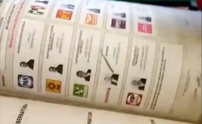 Reportan boletas marcadas a favor de Morena en Michoacán