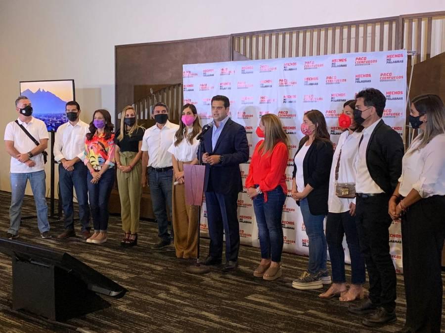 Francisco Cienfuegos asegura triunfo en Monterrey