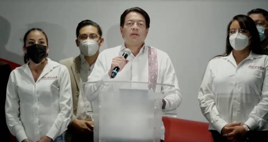 Morena gana en Zacatecas, Colima y Campeche, asegura Mario Delgado