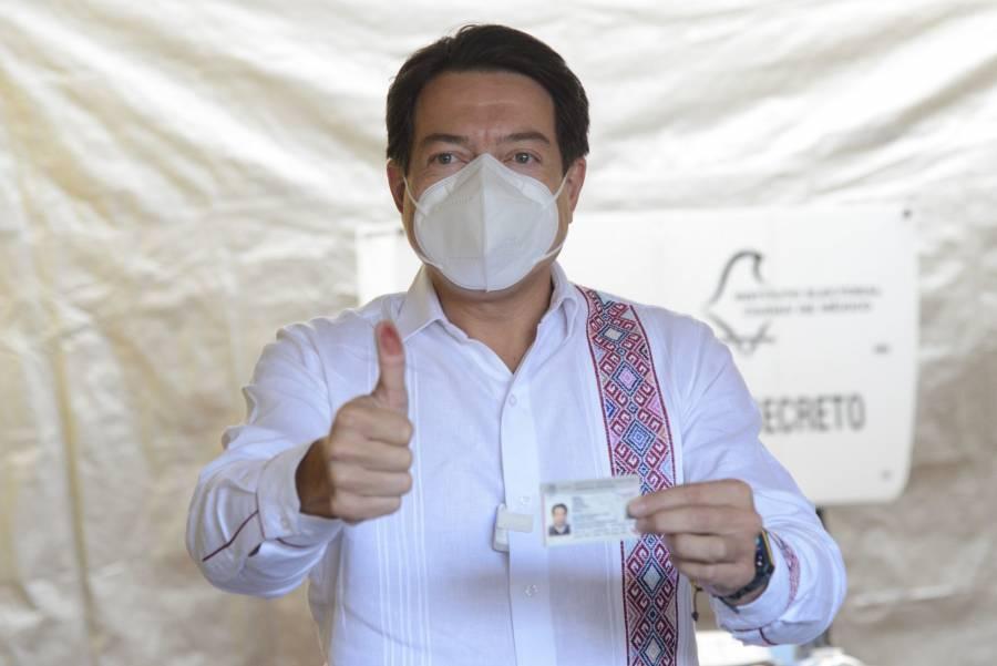 INE tiene el reto de demostrar que está a la altura del pueblo de México: Mario Delgado