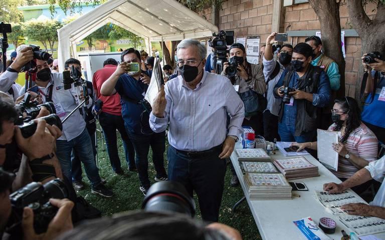 "Llaman candidatos a gubernatura de Sinaloa salir a votar ""sin miedo"""