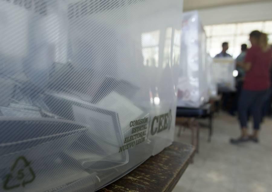 Reportan detenciones en Nuevo León por delitos electorales