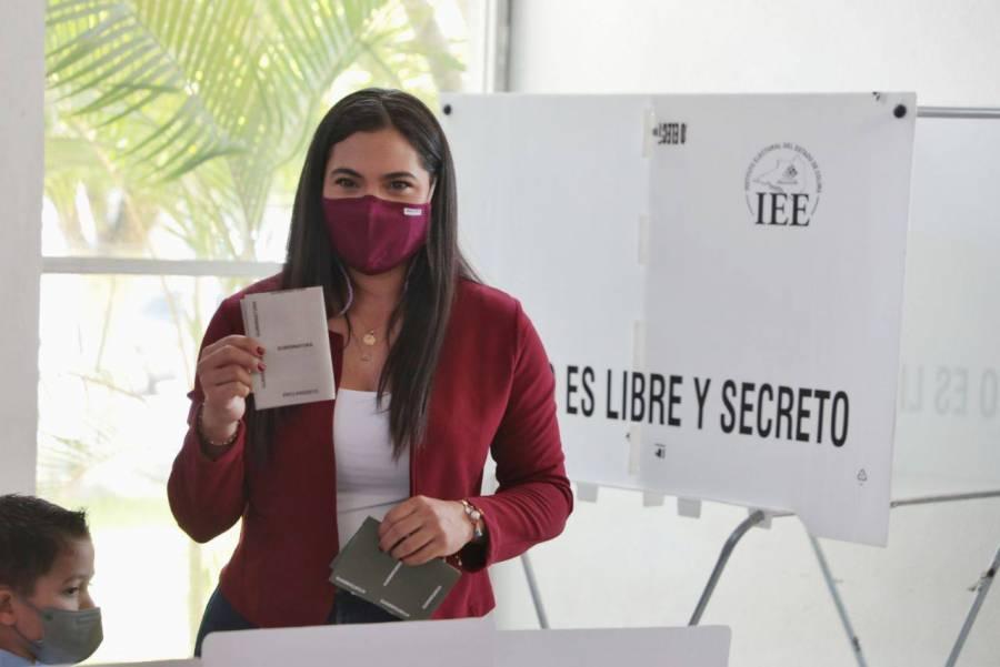 Destaca Indira Vizcaíno participación ciudadana en Colima