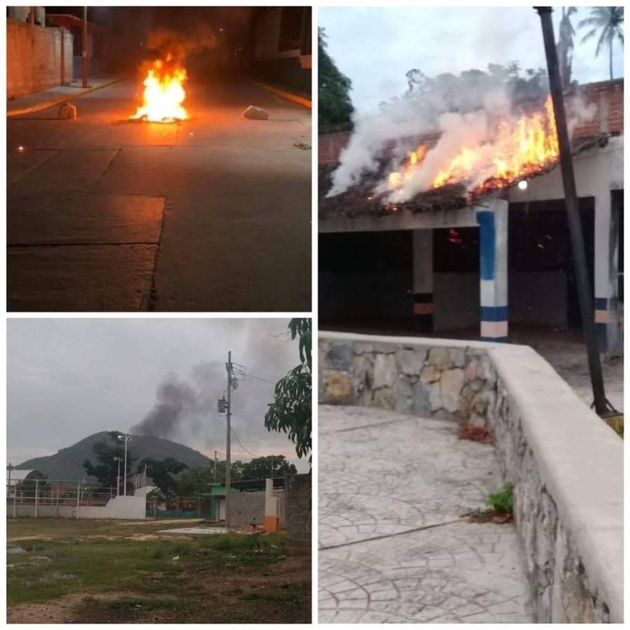 Santiago Laollaga, Oaxaca: suspenden elecciones por incendio provocado en una sede de casillas