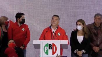 Alejandro Moreno adelanta triunfo del PRI en Colima, Campeche y Nuevo León