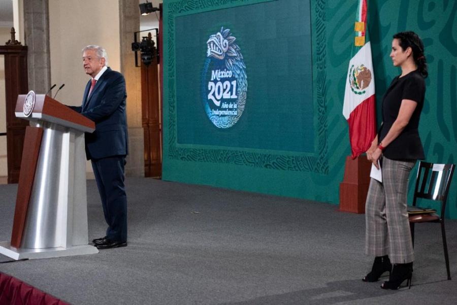 Celebra AMLO que Morena haya ganado, por lo menos, en la casilla que votó