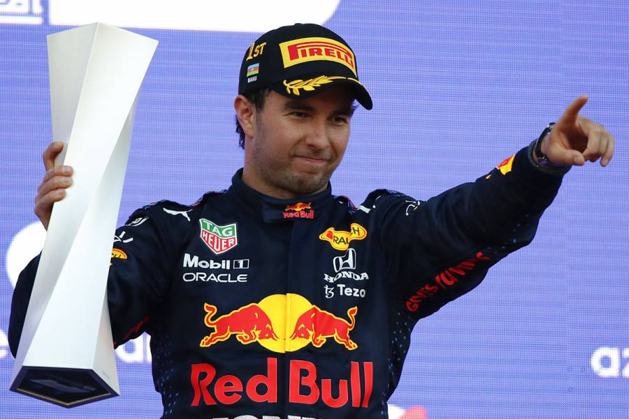 """Checo"" Pérez gana el Gran Premio de Azerbaiyán de Fórmula 1"
