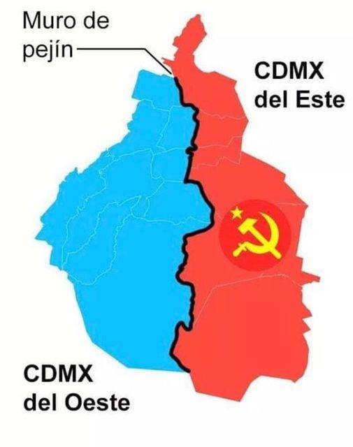 En redes nace la CdMx del Este y la de Occidente