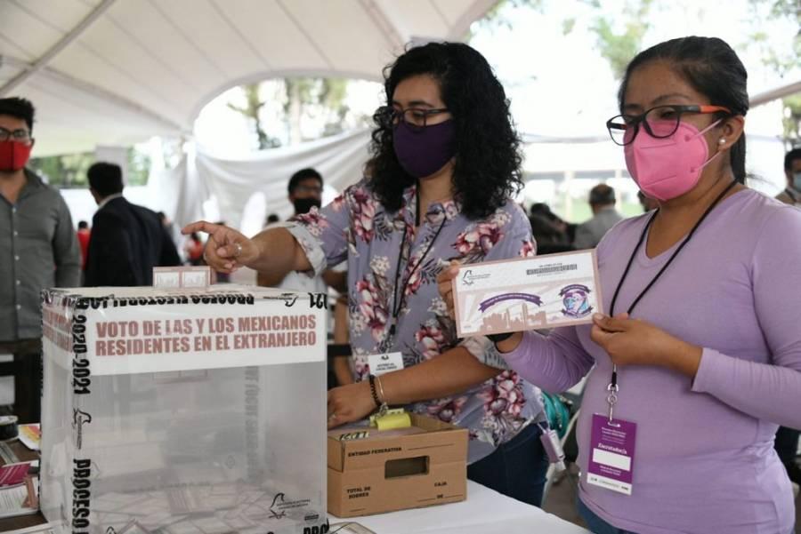 Ofrece IECM resultados de elección de Diputación Migrante