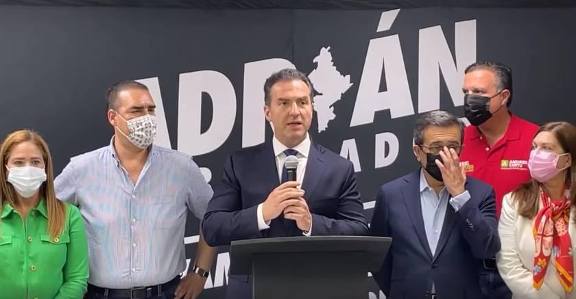 Adrián de la Garza reconoce su derrota electoral en Nuevo León