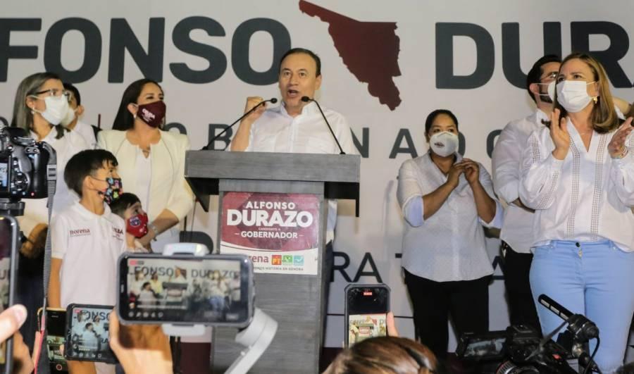 PREP en Sonora da la victoria a Alfonso Durazo