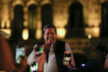 PREP da la victoria a David Monreal en Zacatecas
