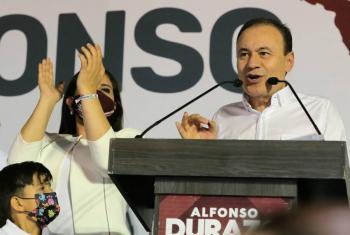 Alfonso Durazo virtual ganador en Sonora