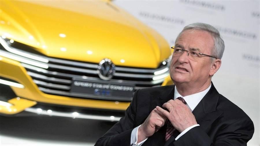 Acusan a expresidente de Volkswagen de falso testimonio en escándalo de Dieselgate