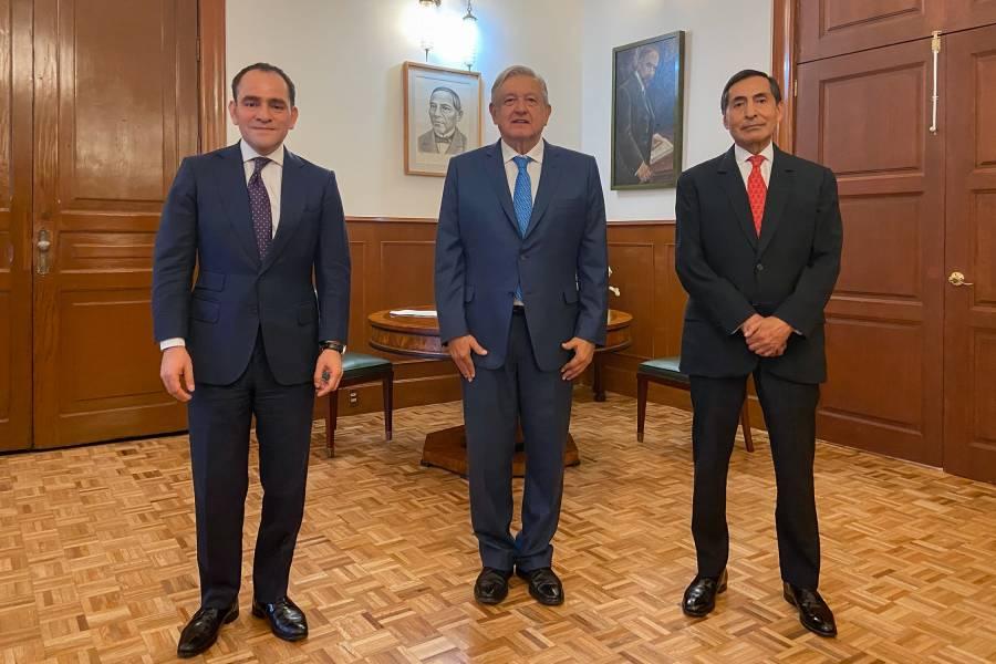 Propone AMLO a Arturo Herrera para Banxico y Rogelio Ramírez de la O llega a la SHCP